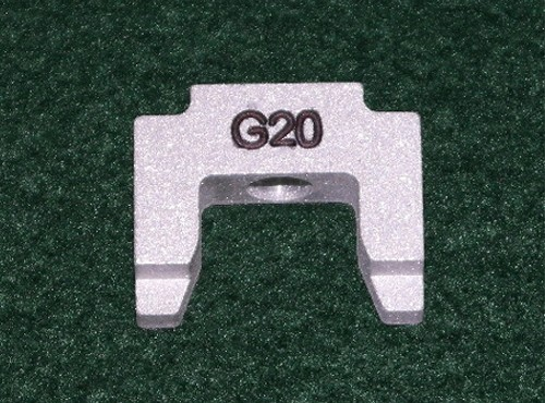Glock 20 Degree Aluminum Pusher